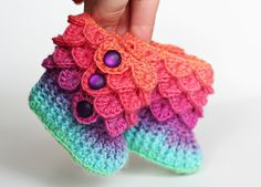 The cutest baby booties I have ever seen!