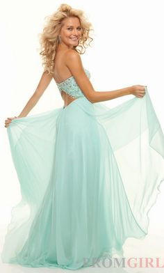 Elegant  Mint Sweetheart Evening Dress Beaded Long Chiffon Formal Prom Gown | eBay