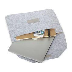 New fashion lembut lengan bag kasus untuk apple macbook air pro retina 11 12 13 15 Laptop Anti gores Penutup Untuk Mac book 13.3 inch