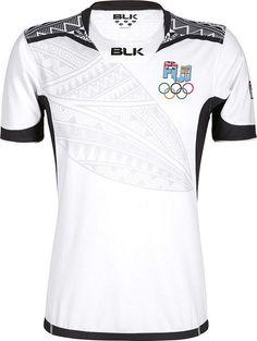 BLK lança uniformes de rugby de Fiji para Rio 2016 - Show de Camisas