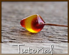 Polymer Clay Teardrop Headpin Tutorial, How to Make Faux Glass Teardrop Headpins