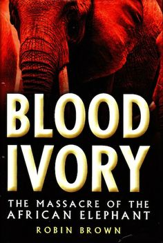 Blood Ivory tells the story of how the professional hunting fraternity, in the author's opinion, was the first to realize the threat to the #elephant. The author also portrays the powerful personalities of those involved in both sides of the massacre. The author offers a pro-ivory trade approach that EAL does not accept. But the book gives some interesting insights and stories that can be helpful to better put into context the elephant's tragedy. The History Press - 2008 ISBN: 978 07509 4157…