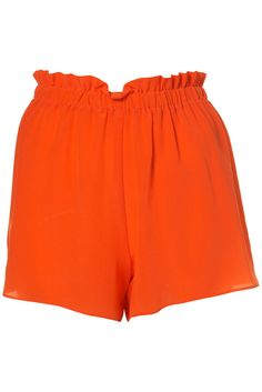 What to Wear When It's Hot Outside...Two of my all time faves;  Orange and shorts!