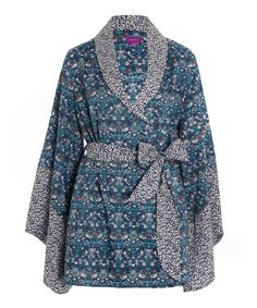 Liberty Print Strawberry Thief Cotton Kimono | Womenswear | Liberty.co.uk