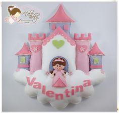 Porta Maternidade Princesa no Castelo