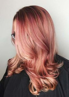 Best Hairstyles   Haircuts for Women in 2017   2018   21 Breathtaking Rose  Gold Hair Ideas You Will Fall in Love With Instantly Sa  09579b6bc49d