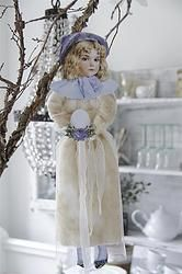 Victorian SPRING Girl - Large Ornament