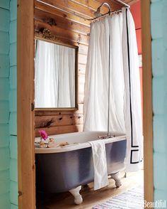 alex moore designs : #home #bathrooms #rustic
