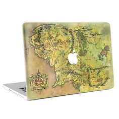 Buy directly from the world's most awesome indie brands. Or open a free online store. Mac Skins, Middle Earth Map, Macbook Skin, Indie Brands, Vintage World Maps, Decals, Cover, Humble Abode