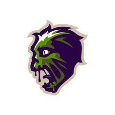 Set of 16 logos / avatars / mascots / illustrations for Xbox live portal Renard Logo, Avatar, Esports Logo, Skull Logo, Xbox Live, Sports Brands, Mockup, Portal, Logo Design