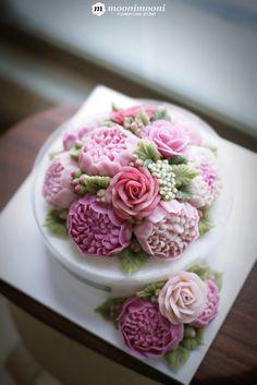 부산앙금플라워떡케이크 :: MOONIMOONI RICE FLOWER CAKE :: 새로운 공방에 싱크...