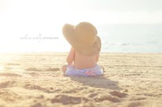 Dreamy Baby and Spring Color, Flare Haze Edits Beach Baby Photography, Children Photography, Family Photography, Photography Ideas, Baby Beach Photos, Beach Pictures, Beach Pics, Beach Shoot, Shooting Photo