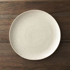 Crate and Barrel round plates