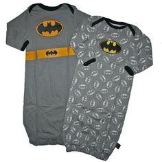 Batman 0-6 Months Baby Boys 2 Pack Gowns (0-6 Months) DC Comics,http://www.amazon.com/dp/B00AAQ894S/ref=cm_sw_r_pi_dp_Dd62qb0E8TBN4Z5V