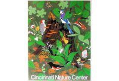 Cincinnati Nature Center Poster (vertical) • The Charley Harper Gallery