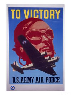 Air Force WWII poster