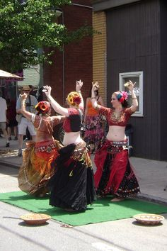 Sundarii Tribal Belly Dance Troupe performing  at Cultural Chaos in Easthampton, MA!