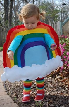 Rainbow this will be my kid