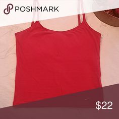 Nike tank Deep red with a white check, size small. Adjustable straps. Fitted with a shelf bra. Gently used and greatly loved!!! Nike Tops Tank Tops