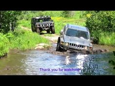 4x4 MUD WATER Off Road on Lowlands Service Road Trail