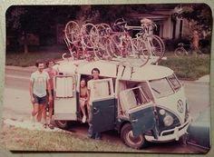 Nostalgia. <3 Bike transport.