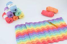 Rainbow - Bomuldsgarn - Tante tråd