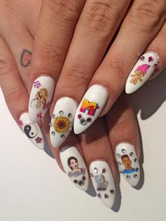 This nail trend will bring back ALL the nostalgia
