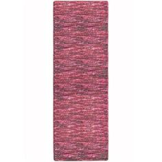 Lanart Rug DANE2X7PO Danerys Handmade With Wool & Rayon Runner Rug, 80 x 24 In., As Shown