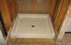 12 Best Shower Pan Installation Images Diy Shower Pan Fiberglass