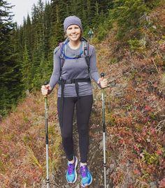Autumn hiking at Idaho Peak.