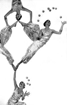 Juggling in French Vogue Circa 1966