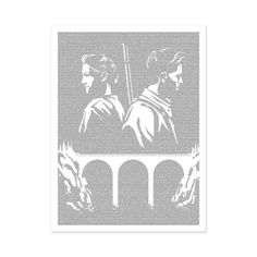 For Whom the Bell Tolls by Ernest Hemingway | Book Poster | Litographs
