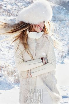 Slide Over The Snow, Vogue Girl January 2013