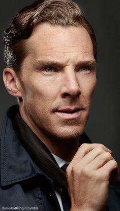 Cumberbatch.    Tumblr: Cumberbuddy
