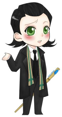Chibi Loki... awwwwwwww