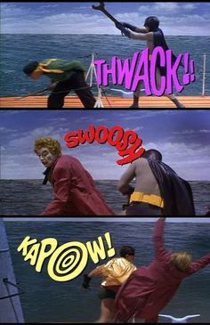 Batman: The 1960s Show - I enjoyed this show growing up (think it was on Nick at Nite or something) and I still enjoy it when I see it on today. I also get the theme song in my head whenever I come across an episode. Na Na Na Na Na Nah