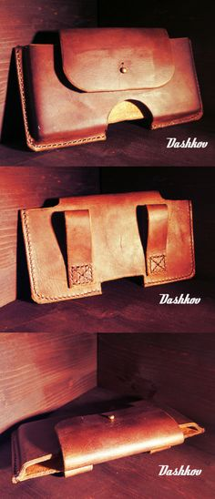 Handmade Leather, Leather Craft, Leather Tooling, Leather Bag, Cell Phone Holder, Phone Cases, Leather Products, Bushcraft, Diy And Crafts