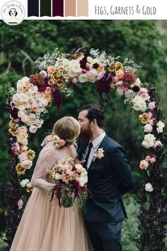 Figs, Garnets & Gold - Autumn Wedding Inspiration Board