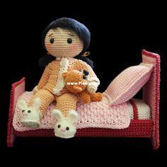[New]Zhaya designs - Goodnight Lilly - Free-Knitting and Crochet Communication-Crochet Patterns-PinDIY -