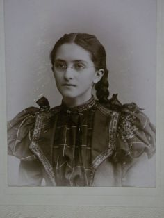 Pretty Young Lady with Glasses Braided Hair by debsatticfinds