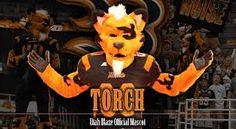 Utah Blaze Mascot -Torch