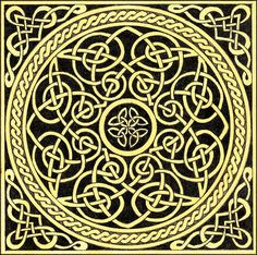 Traditional Celtic Knot. by ~cosmic-tool on deviantART