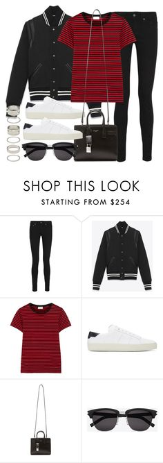 """""""Style #11506"""" by vany-alvarado ❤ liked on Polyvore featuring Yves Saint Laurent and Forever 21"""