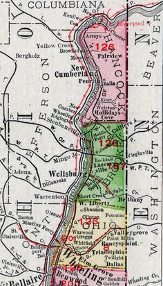 55 best historic west virginia county maps images on pinterest hancock county west virginia 1911 map new cumberland weirton chester publicscrutiny Choice Image