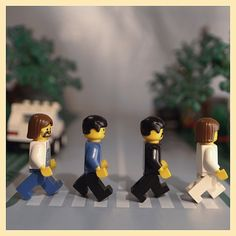 The Beatles - Lego - Abbey road