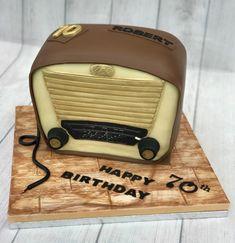 Vintage Radio Cake