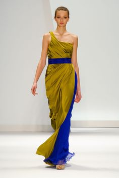 Carlos Miele Fall 2011 Runway Pictures - StyleBistro