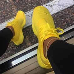 New Nike Presto Running Shoes Sneakers Shoes, Nike shoes, Nike yellow nike shoes - Yellow Things Hype Shoes, Women's Shoes, Me Too Shoes, Shoe Boots, Louboutin Shoes, Flat Shoes, Converse Shoes, Bape Converse, Shoes Style