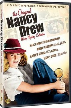 Nancy Drew Collectibles: The 1930's Movies - I own these...they are awesome and hilarious!
