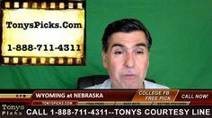 Wyoming Cowboys vs. Nebraska Cornhuskers Pick Prediction College Footbal...